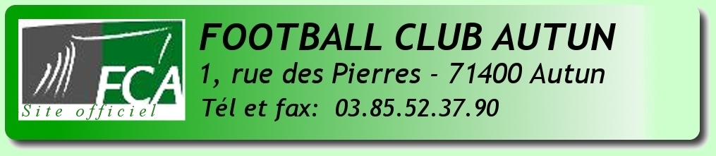 Site Officiel du F.C Autun